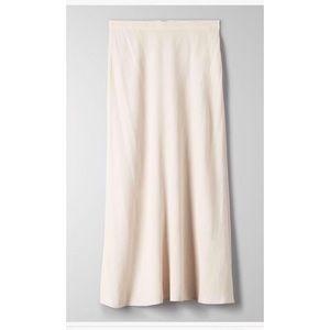 NWT Aritzia Wilfred Midi Skirt- size 0